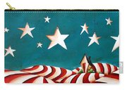 Star Spangled Carry-all Pouch by Cindy Thornton