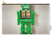Star Strider Robot Green Carry-all Pouch