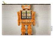 Star Strider Robot Orange Carry-all Pouch