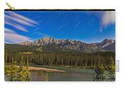 Star Trails Above The Front Ranges Carry-all Pouch