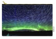 Star Trails And Aurora Carry-all Pouch