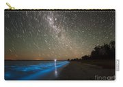 Star Trails And Bioluminescence Carry-all Pouch by Philip Hart