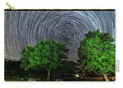 Star Trails At Sunken Meadow State Park Carry-all Pouch