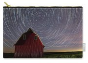 Star Trails At The Red Barn Carry-all Pouch