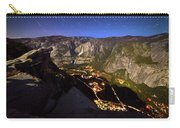 Star Trails At Yosemite Valley Carry-all Pouch
