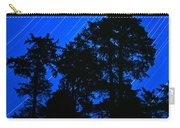 Star Trails Behind Ruby Beach Tree Group Carry-all Pouch