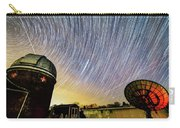 Star Trails Over Custer Observatory Carry-all Pouch