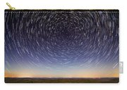Star Trails Over Mountains Carry-all Pouch