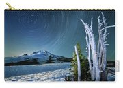 Star Trails Over Mt. Hood Carry-all Pouch