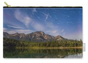 Star Trails Over Patricia Lake Carry-all Pouch