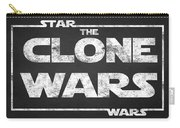 Star Wars The Clone Wars Chalkboard Typography Carry-all Pouch
