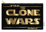 Star Wars The Clone Wars Typography Carry-all Pouch
