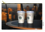 Starbucks At The Top Carry-all Pouch