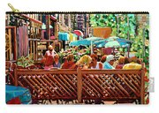 Starbucks Cafe On Monkland Montreal Cityscene Carry-all Pouch