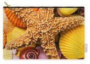 Starfish And Seashells  Carry-all Pouch