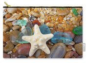 Starfish Art Prints Star Fish Seaglass Sea Glass Carry-all Pouch