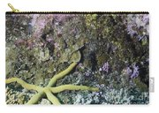 Starfish On A Coral Reef Carry-all Pouch