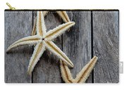 Starfishes In Wooden Carry-all Pouch