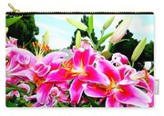 Stargazer Lilies #1 Carry-all Pouch