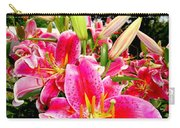 Stargazer Lilies #2 Carry-all Pouch