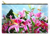 Stargazer Lilies #3 Carry-all Pouch
