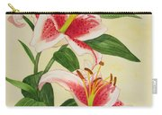 Stargazer Lilies - Watercolor Carry-all Pouch