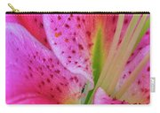 Stargazer Lily Close Up Carry-all Pouch