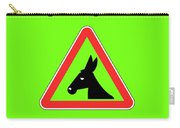 Staring Bigstock Donkey 171252860 Carry-all Pouch