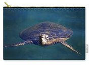 Staring Turtle Carry-all Pouch