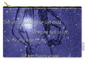 Starlight Of Space And Time 3 Carry-all Pouch