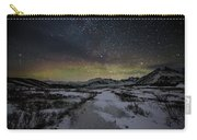 Starry Night In Iceland Carry-all Pouch