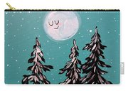 Starry Night Moon  Carry-all Pouch