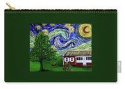 Starry Night Over Grandma's Cabin Carry-all Pouch