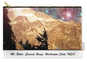Starry Night Over Mount Baker Carry-all Pouch