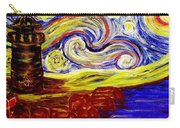 Starry Night Over Nubble Lighthouse  Carry-all Pouch