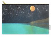 Starry Sky Above The Ocean Carry-all Pouch