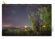 Starry Sky Over Lake Champlain New York Carry-all Pouch