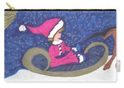 Starry Sleigh Ride Carry-all Pouch