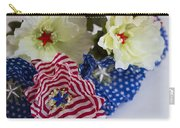 Stars And Stripes Bouquet Carry-all Pouch