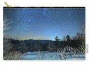 Stars Over The New Hampshire White Mountains Carry-all Pouch