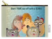 Start Off Your Day With A Song Carry-all Pouch