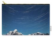 Startrails Above Reine Carry-all Pouch