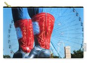 State Fair Of Texas Icons Carry-all Pouch