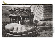 State Of Liberty: Feet Carry-all Pouch
