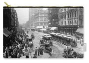 State Street - Chicago Illinois - C 1893 Carry-all Pouch