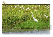 Stately Egret Carry-all Pouch