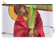 Stations Of The Cross - 02 Jesus Accepts The Cross - Mmjcs Carry-all Pouch