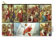 Stations Of The Cross Carry-all Pouch
