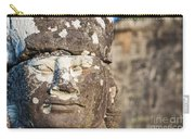 Statue At Angkor Thom Carry-all Pouch