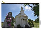 Statue At St. Mary's Church Carry-all Pouch